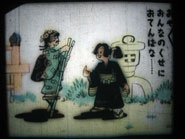 "Pose n°5 du film japonais ""La princesse garçon-manqué"", s.d, 01GB0009, Collection de l'Association de sauvegarde de films fixes en Anjou."