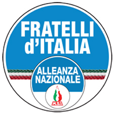 Figure 8 – Logo du parti Fratelli d'Italia, 2014. Sources : http://www.fratelli-italia.it/. © Droits réservés.