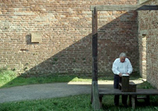 Illustration 3 Gallows in the Small Fortress where the Jews from the ghetto were not killed